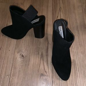 Steve Madden Neva Chunky Mules with band Size 8.5